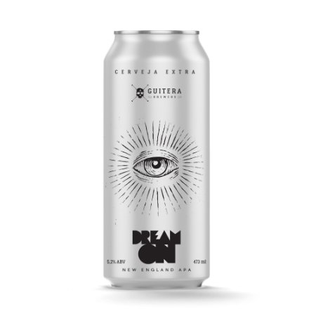 Dream On - New England APA - Guitera Brewers - 473 ml