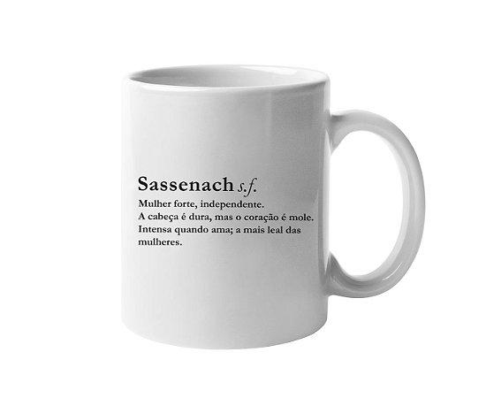 Caneca Dicionário Sassenach