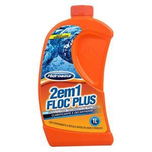 Floc Plus 2 em 1 - Hidroazul