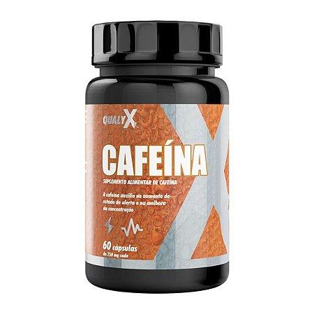 Suplemento alimentar de Cafeína 750mg - 60 Cápsulas