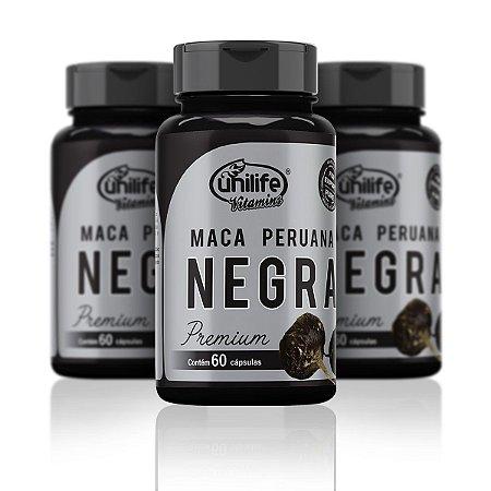 Maca Peruana Negra - 60 Cápsulas
