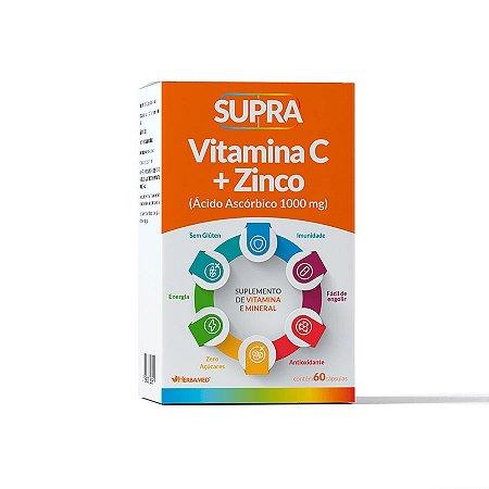 Vitamina C + Zinco 1000mg C/ 60 Cápsulas