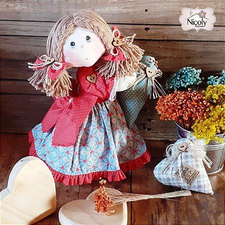 Boneca Decorativa - Tempero de Mãe