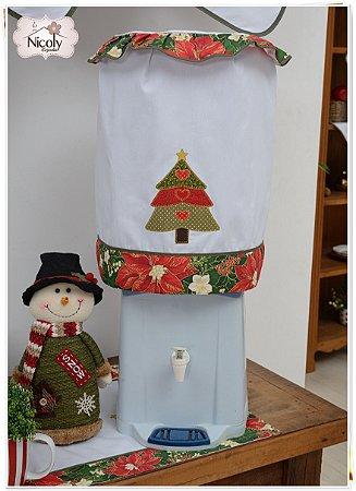 Capa Galão 10 litros – Árvore de Natal, 27cm x 25cm.