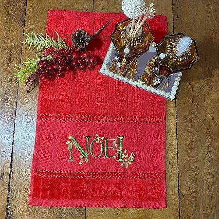 Toalha de Lavabo  – Noel, 30cm x 45cm.