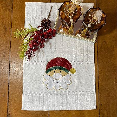 Toalha de Lavabo  – Noel Feliz, 30cm x 45cm.