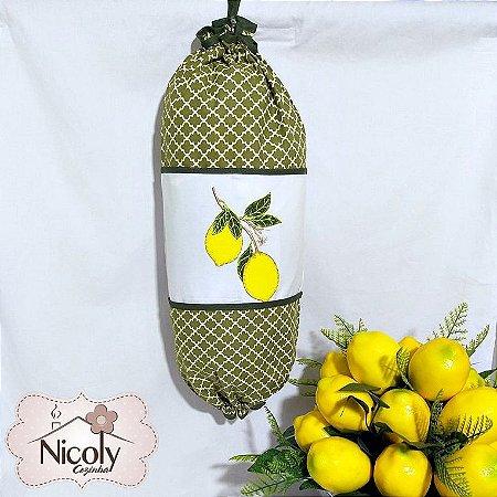 Puxa Saco – Limão, 49cm x 49cm.