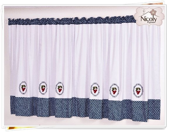 Cortina Marcela – Cereja Royal, 3m x 1,15m