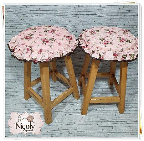 Assento Redondo – Amore, 29cm x 29cm.