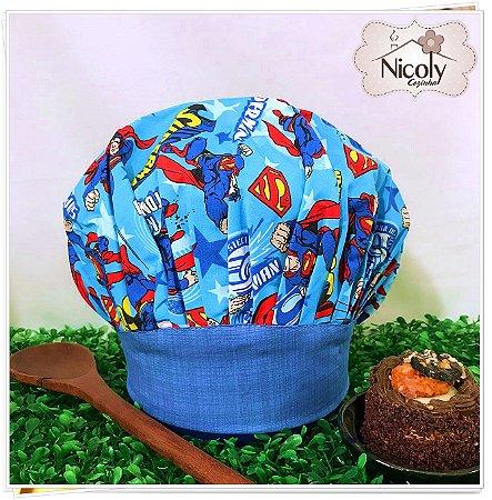 Chapéu Gourmet Infantil - 003, 100% algodão.