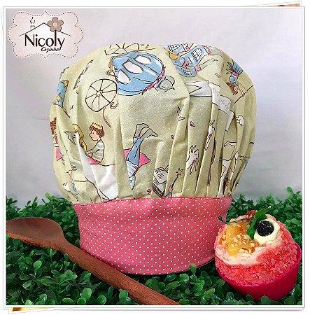 Chapéu Gourmet Infantil - 013, 100% algodão.