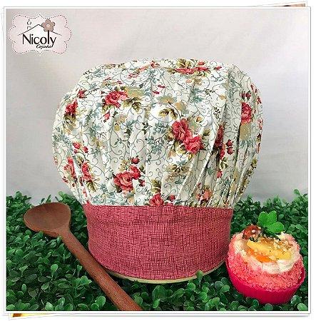 Chapéu Gourmet Infantil - 015, 100% algodão.