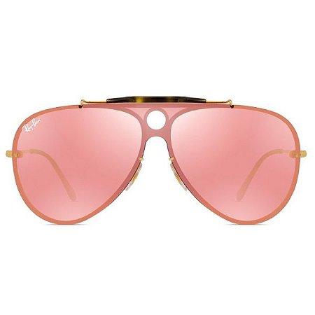 Óculos de Sol Ray-Ban RB3581 Blaze Shooter rosa