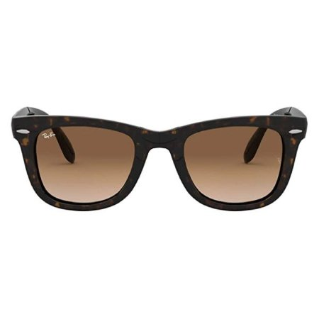 Óculos de Sol Ray-Ban RB4105 Wayfarer Dobrável marrom fosco/marrom