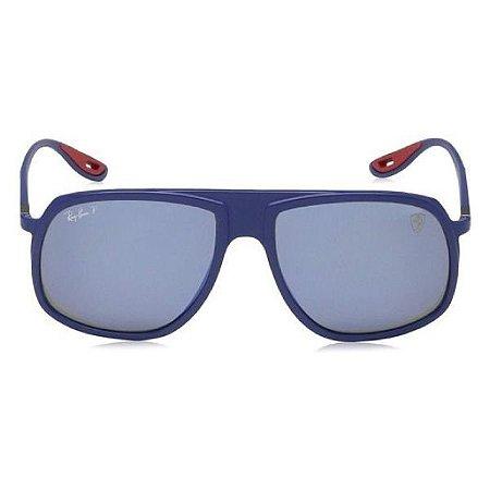 Óculos de Sol Ray-Ban RB4308 Scuderia Ferrari Collection azul