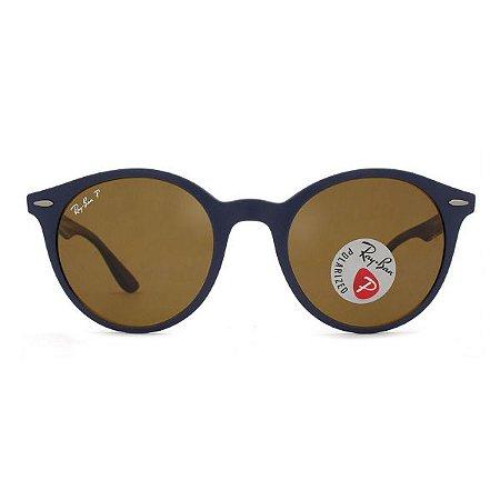 Óculos de Sol Ray-Ban RB4296 Scuderia Ferrari marrom