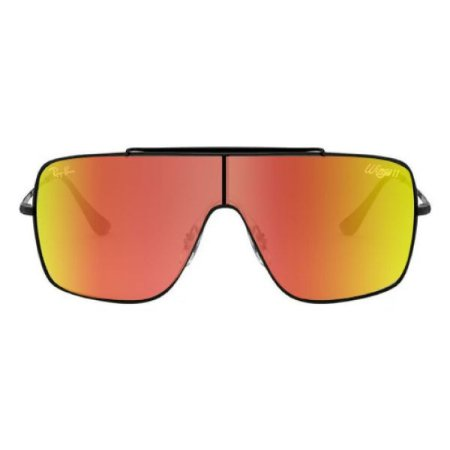 Óculos de Sol Ray-Ban RB3697 Wings II vermelho espelhado