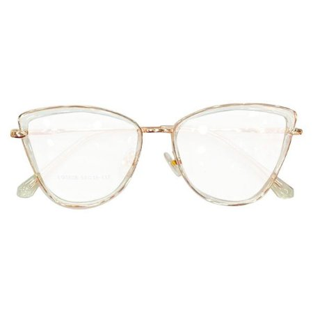 Armação óculos Dior 5508 - cristal/nude