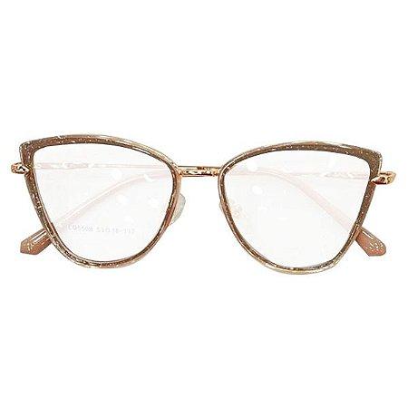 Armação óculos Dior 5508 - rosê