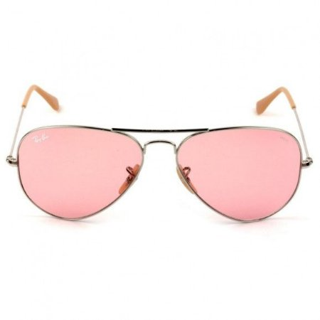 Óculos de Sol Ray-Ban RB3025 Aviador prata/rosa