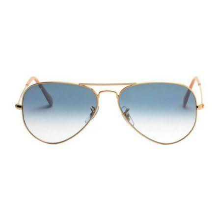 Óculos de Sol Ray-Ban RB3025 Aviador azul degrade