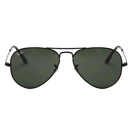 Óculos de Sol Ray-Ban RB3025 Aviador preto / preto