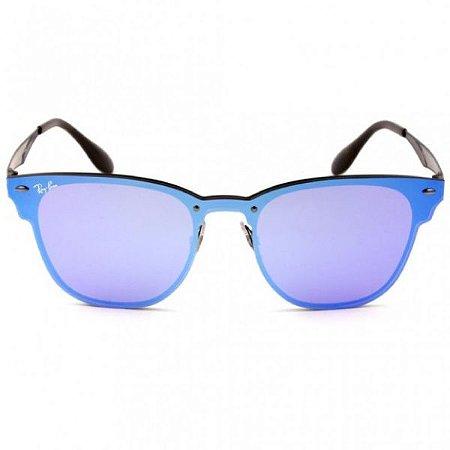 Óculos de Sol Ray-Ban RB3576 Blaze Clubmaster azul