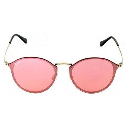 Óculos de Sol Ray-Ban RB3574 Blaze Round rosa