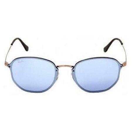 Óculos de Sol Ray-Ban RB3579 Blaze Hexagonal azul