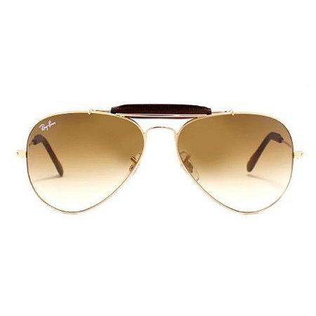 Óculos de Sol Ray-Ban RB3422 Caçador marrom degradê
