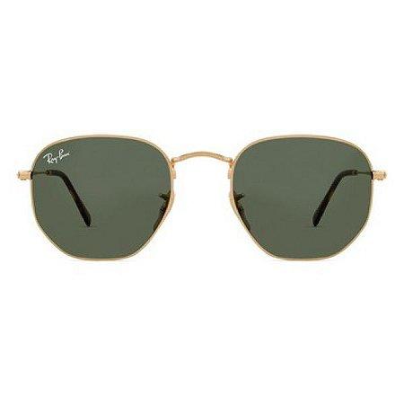 Óculos de Sol Ray-Ban RB3548 Hexagonal verde / dourado