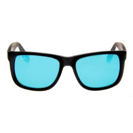 Óculos de Sol Ray-Ban RB4165 Justin azul espelhado polarizado