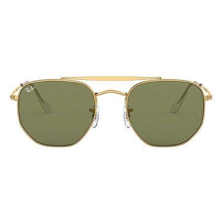 Óculos de Sol Ray-Ban RB3648 Marshal verde / dourado