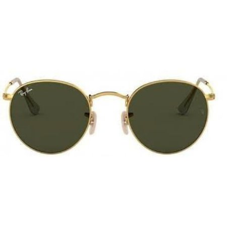 Óculos de Sol Ray-Ban RB3447 Round verde