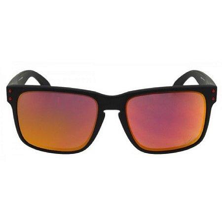 Óculos de Sol Oakley Holbrook Ducati ruby espelhado - polarizado