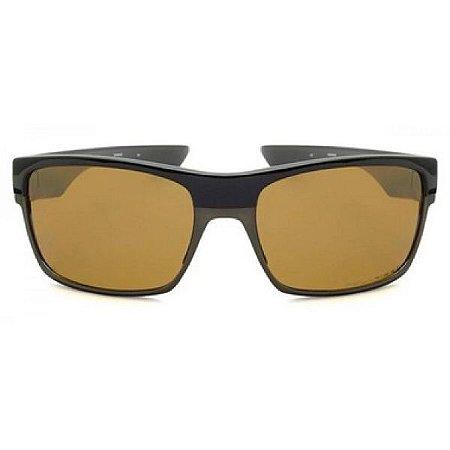 Óculos de Sol Oakley Twoface marrom - polarizado