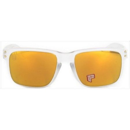 Óculos de Sol Oakley Holbrook dourado Shaun White - polarizado