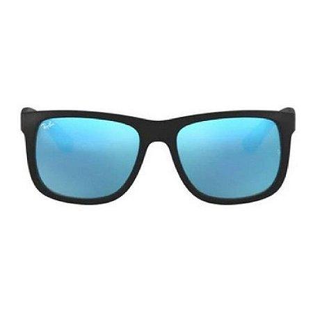 Óculos de Sol Ray-Ban RB4165 Justin roxo espelhado polarizado