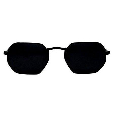 Óculos de Sol Ray-Ban RB3556 Octagonal preto / preto