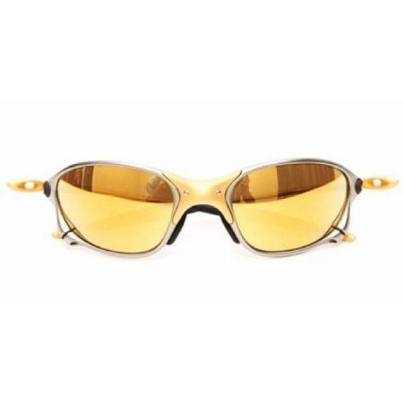 Óculos de Sol Oakley Juliet 24k x-metal dourada - Compre 1 leve 2