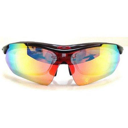 Óculos de Sol Oakley Radar ciclismo 5 lentes