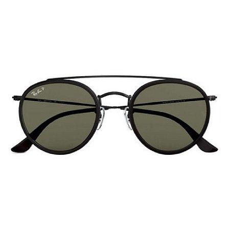Óculos de Sol Ray-Ban RB3647 Round Double Bridge verde