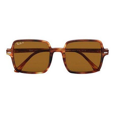 Óculos de Sol Ray-Ban RB1973 Square marrom tartaruga
