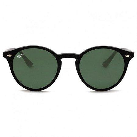 Óculos de Sol Ray-Ban RB2180 round Propionato - preto brilhante