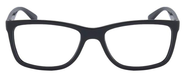 Óculos de Grau Ray-Ban RX7027L Preto Brilhante - 2000/56