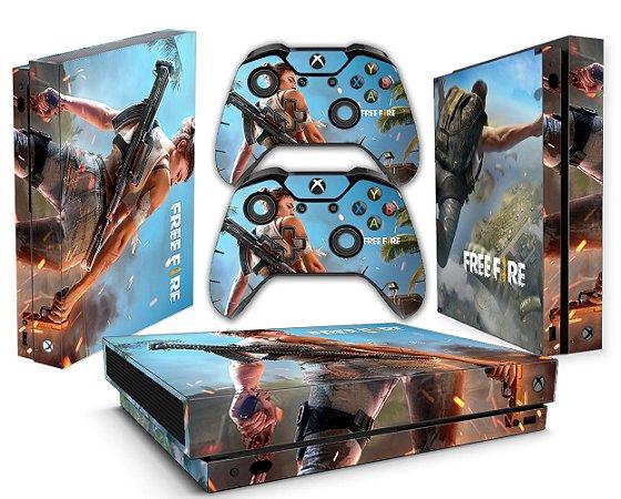 Skin Xbox One X Free Fire 217 Tf Arts Adesivos Personalizados