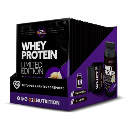 WHEY PROTEIN LIMITED EDITION G2L 40G COM 15 UNIDADES
