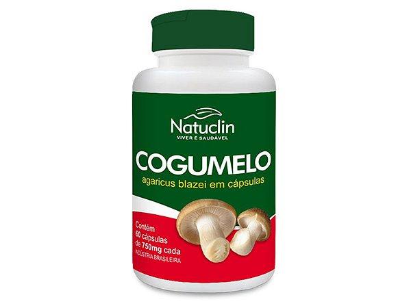Cogumelo Seco 60 Cápsulas - Agaricus Blazei