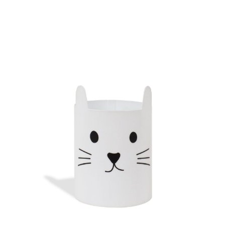 Porta Trecos - Gatinho Branco