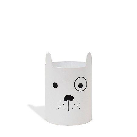 Porta Trecos - Cachorrinho Branco